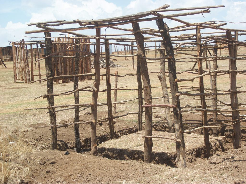 Kinds Of Shelters : Meru towns poorly planned eastern post